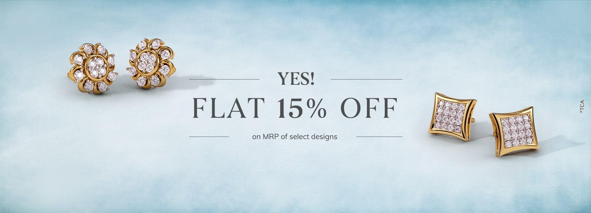 FLAT 15% offer